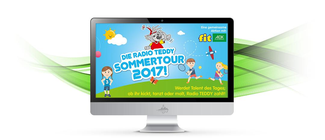 Live in Schöneiche – Radio TEDDY