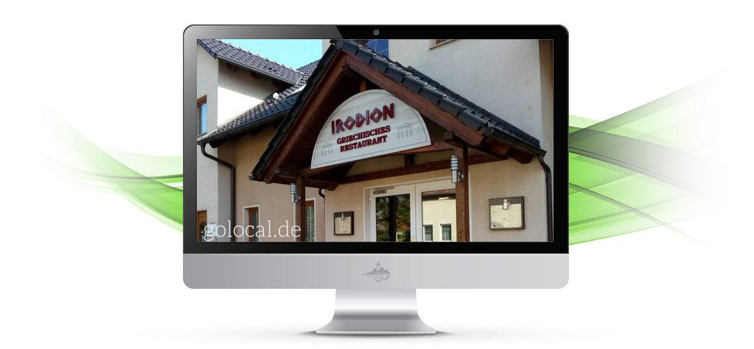 Griechisches Restaurant Irodion eröffnet