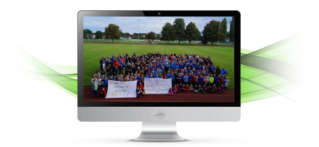 Schreiben der Schöneicher Sportvereine an Gemeindevertretung