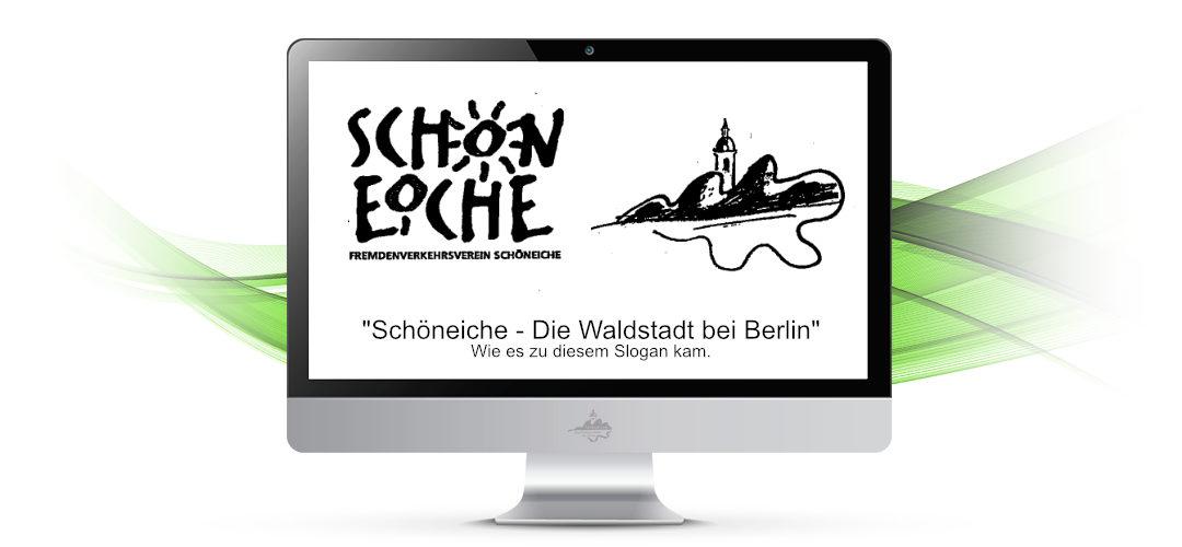 """""""Waldstadt"""" Schöneiche und was es damit auf sich hat"""