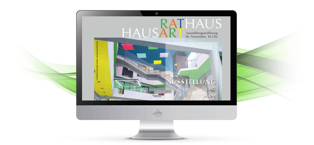 RATHAUSART – 4. Ausstellung mit Gerald Steenweg und Olaf Haugk