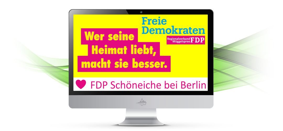 FDP Wahlprogramm – Schöneiche ein lebenswerter Ort für Senioren!
