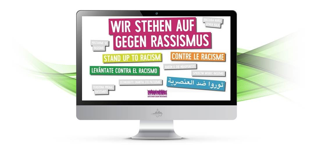 Weltweit aufstehen gegen Rassismus in Schöneiche am Samstag 16.03.2019 um 12 Uhr vor dem Rathaus