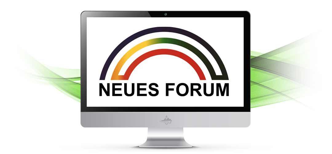 "Gibt es das ""Neue Forum"" überhaupt noch?"