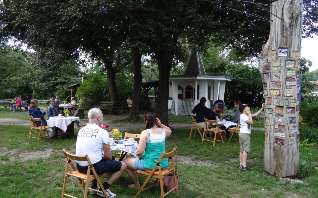 Sommercafé im Kleinen Spreewald Park mit vielen weiteren Angeboten
