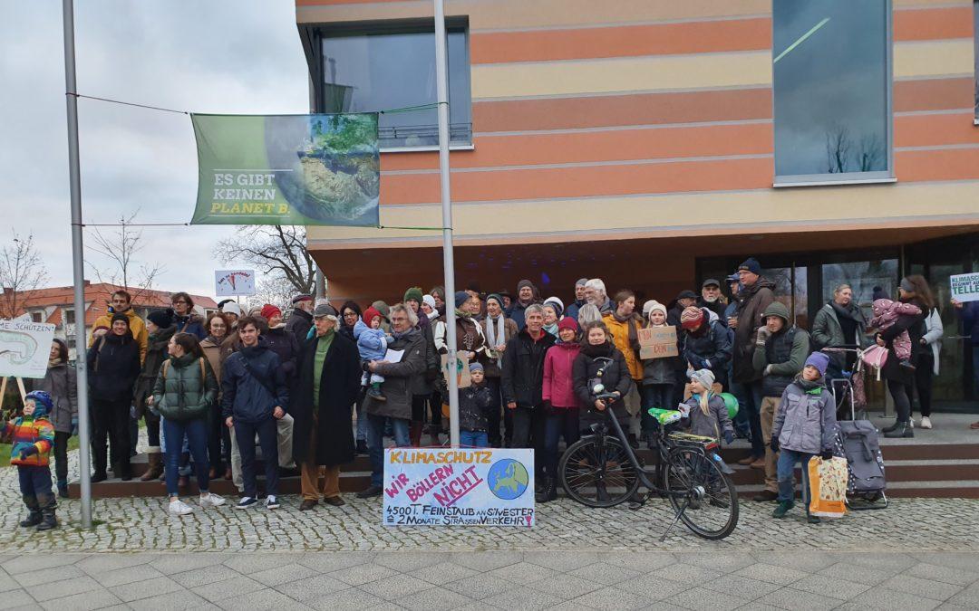 2. Schöneicher Klimaprotest